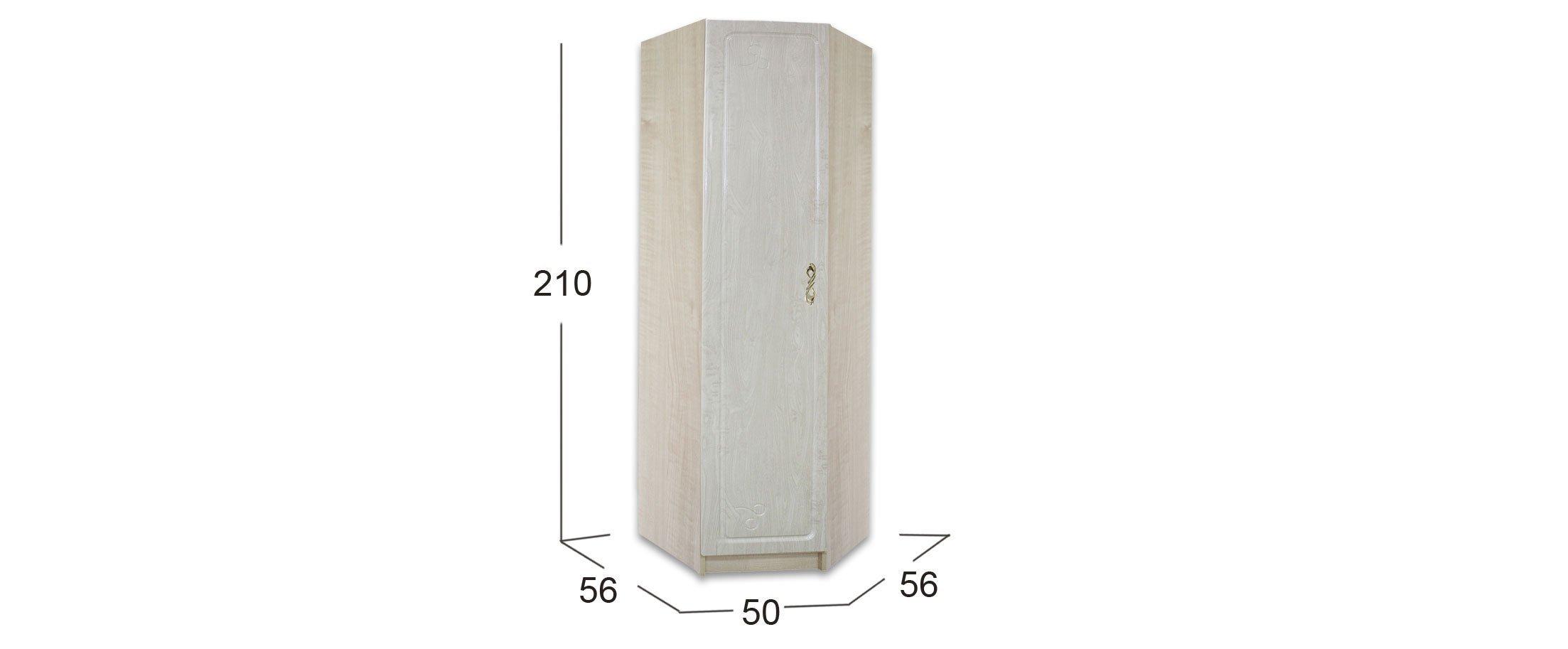 Шкаф угловой Афина-4 Клен Модель 509