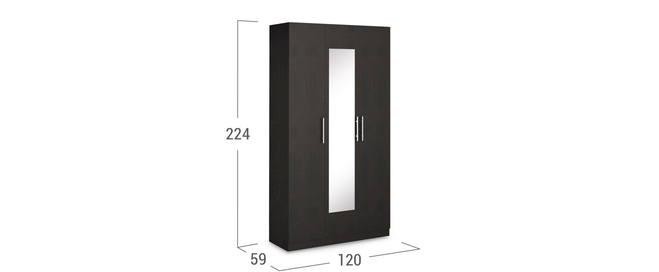 Шкаф 3-дверный Оливия