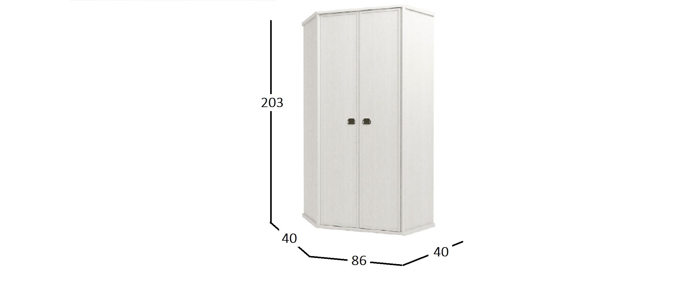 Шкаф угловой Магеллан Модель 735
